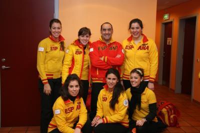 La seleccion española junior fue 7ª  en Taarnby