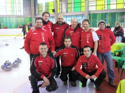 Campeonato de España dobles mixtos en Jaca
