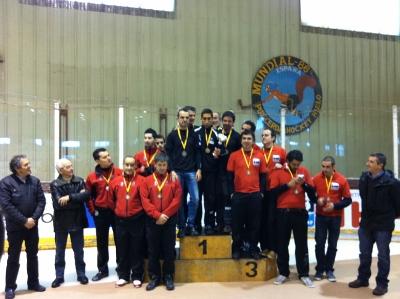 Cuartos en el Campeonato de España